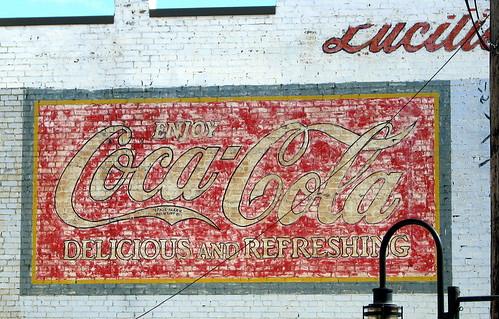 Lucille's Coca-Cola Mural