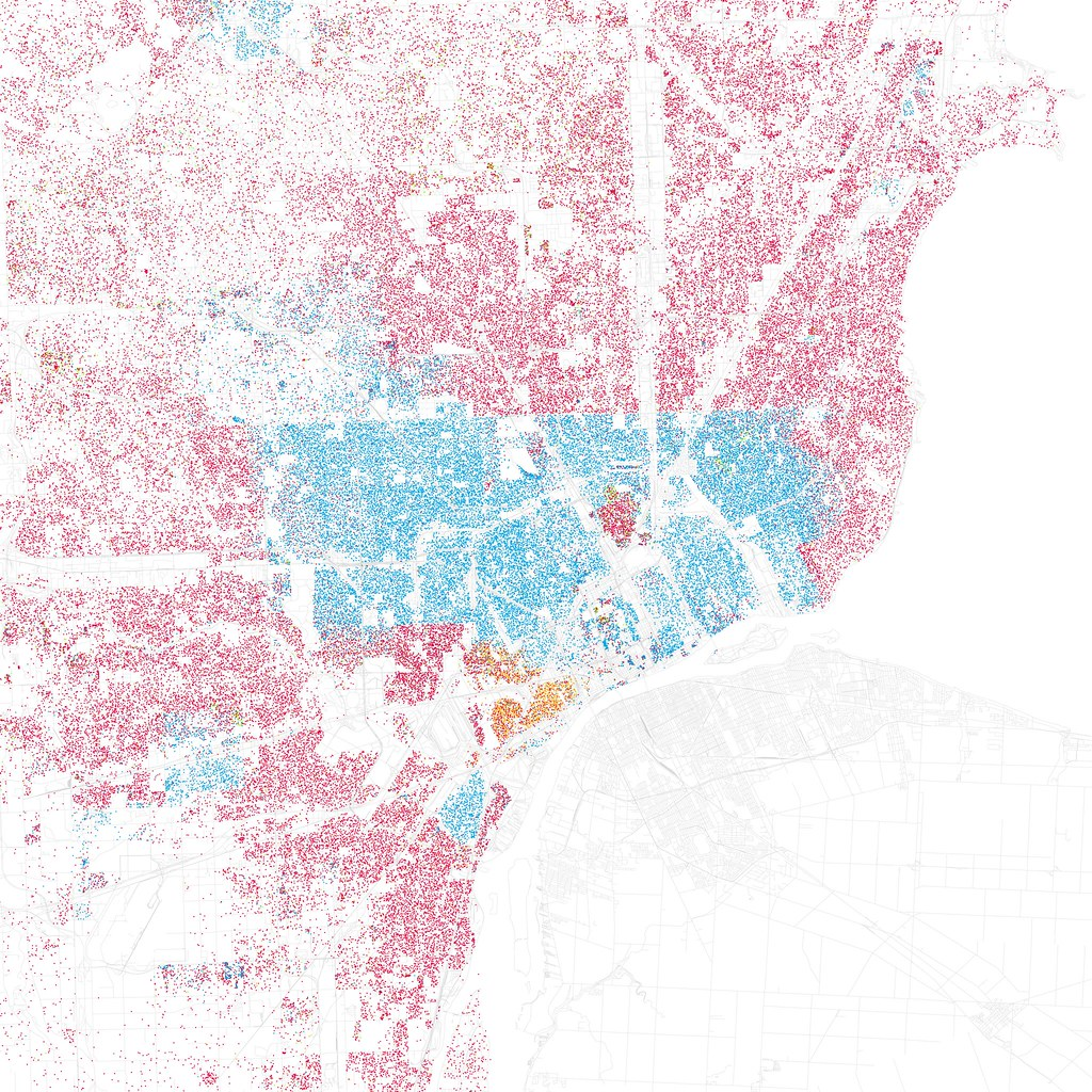 Mapping the Segregation of Houston  General Houston