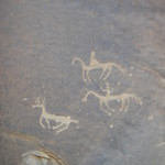 Petroglyphs - Deer Hunt