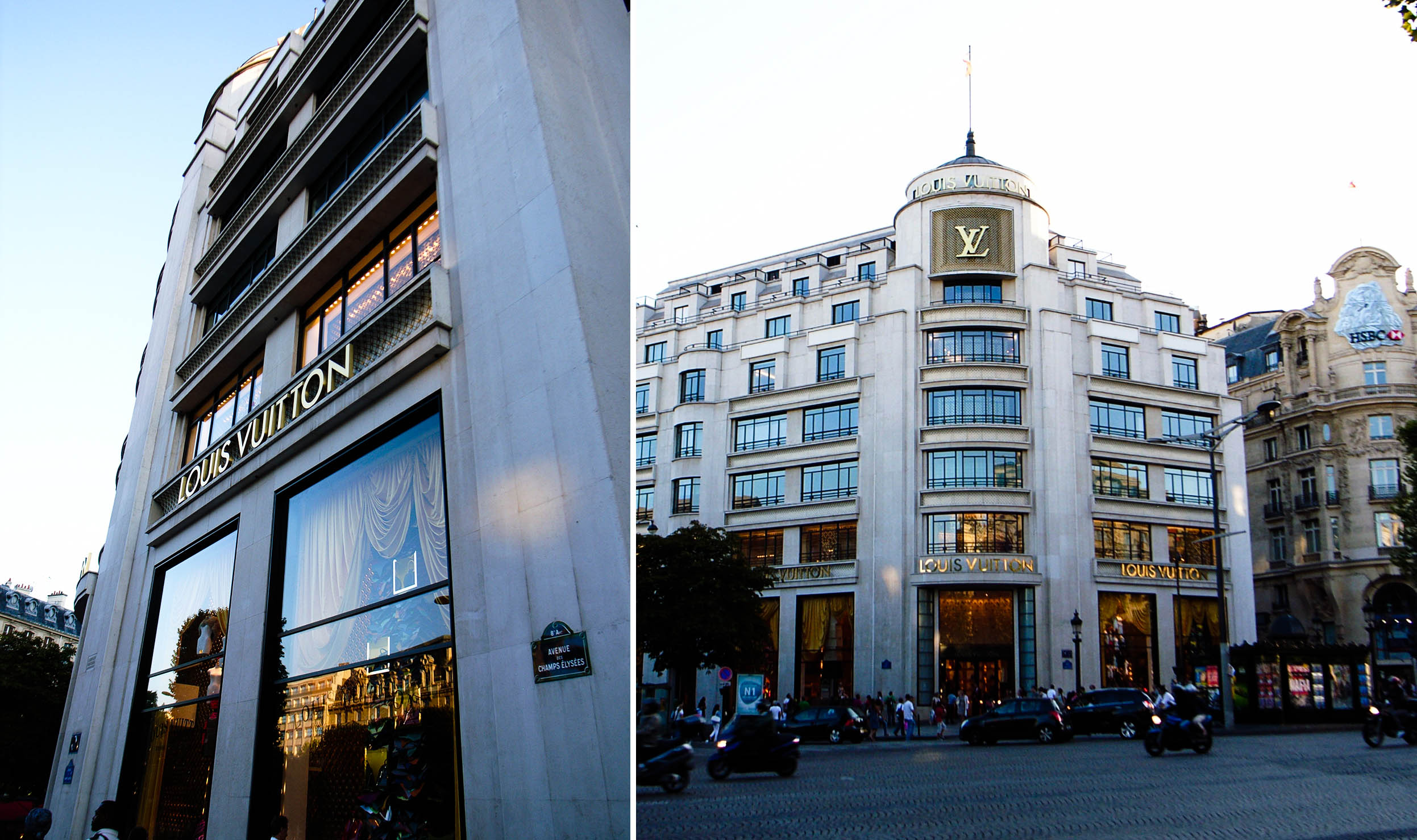 Lv Lv Store At Avenue Des Champs Elys Es