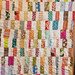 scrappy bar quilt. by CB Handmade