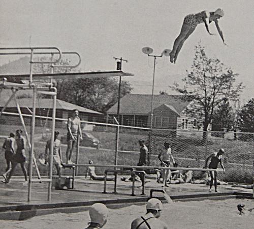 high dive, 60's