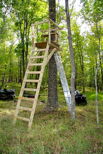 Post a picture of your deer stand / blind - Deer Hunting ...