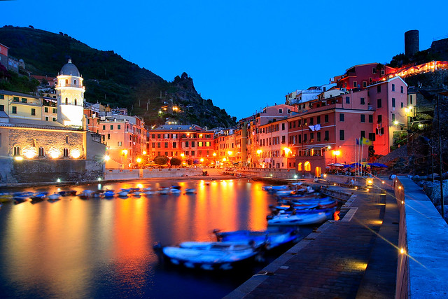 Una sera d'estate a Vernazza / One summer night in Vernazza