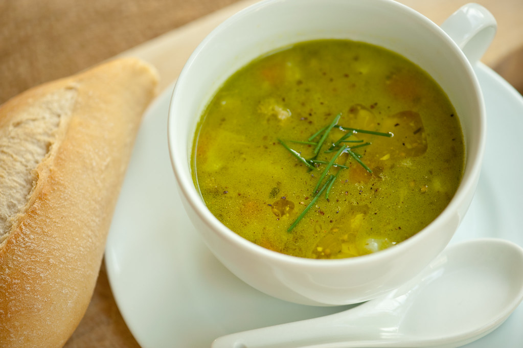 Bright Green Soup of Win (A.K.A. soupe au pistou)
