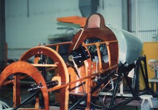 Pfalz D XII, cockpit restoration