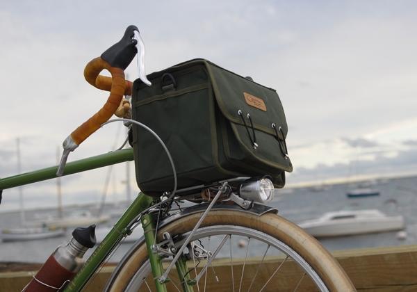 Ostrich Handlebar Bag, Provincetown