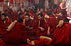 cardinal(0.0), clergy(0.0), priest(0.0), bishop(0.0), priesthood(0.0), bishop(0.0), people(1.0), temple(1.0), religion(1.0), monk(1.0), lama(1.0), person(1.0),