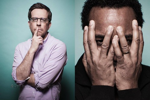 Ed Helms and Lee Daniels | 2010