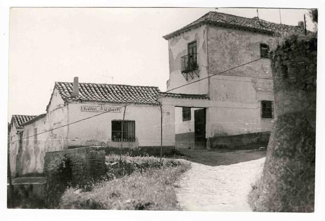Cigarral Guadalupe hacia 1970. Colección Luis Alba. Ayuntamiento de Toledo