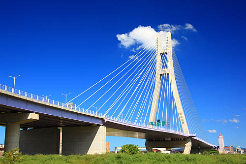 761J二重疏洪道斜張橋-新北大橋