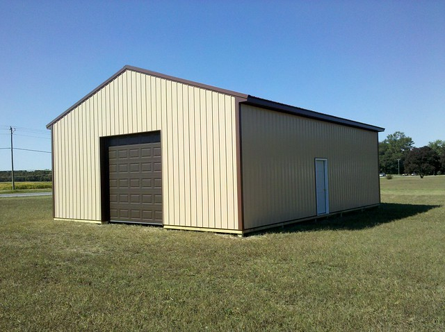 30x40x12 pole barn kit do it yourself another view of