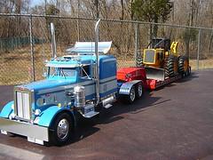 My Diecast and plastic model trucks