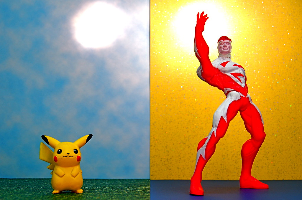Pikachu vs. Superman (267/365)