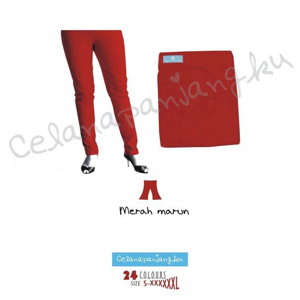 warna merah maroon