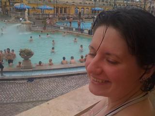 Image of Széchenyi thermal bath near Budapest XIII. kerület. hungary honeymoon budapest thermalbath szechenyi széchenyi széchenyibaths lynaezebest