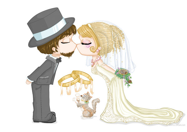Commission__wedding_Card_by_Cilitra
