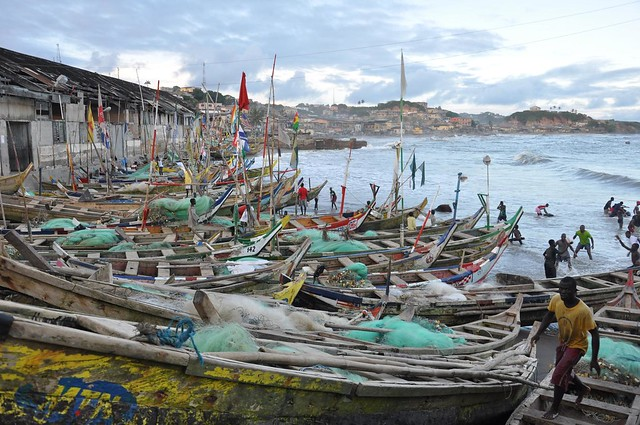 Cape Coast fishing fleet