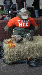 Billy, the Team NCC Scarecrow! - NCC-Monroe Welcome Back Party 2010