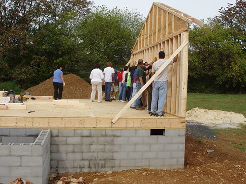 Usda blog rural development employees pour sweat equity for Home building blog