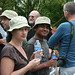 Modeling hats at the TDWG EOL reception by cyanocorax