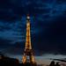 Paris - Nuit blanche 2010 - Tour Eiffel