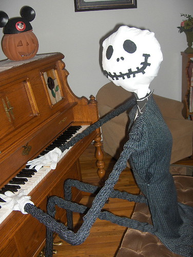Obseussed halloween life size jack skellington - Jack skellington decorations halloween ...