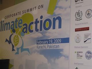 Klimakonferenz Karachi im Februar 2009