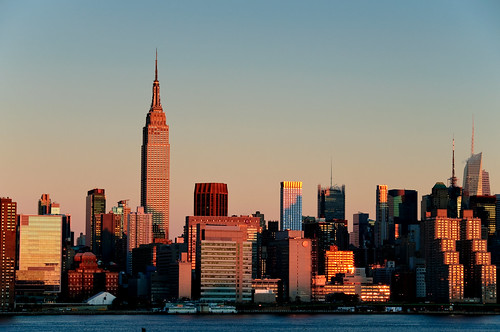 newyorkcity morning reflection skyline sunrise cityscape manhattan eastriver nikond90