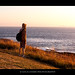 Staring at the rising sun [ @A Coruña, selfportrait] by Luca Cesari Photography