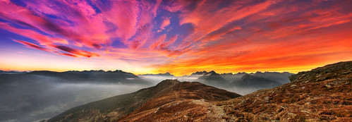 sunset panorama mountains alps geotagged austria tirol österreich long sonnenuntergang pentax pano berge alpen tamron coordinates hdr tyrol position lat 2010 kx 3xp photomatix tamron18250 traumlicht traumlichtfabrik adopeeddishop