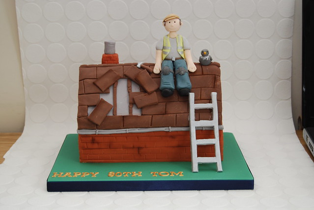 Roofer Birthday Cake