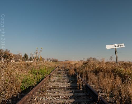 saskatchewan railroadstation abandonedrailway marcelin abandondedbuilding cnblainelake