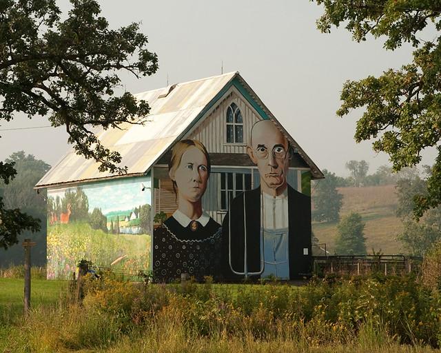 American Gothic Barn Flickr Photo Sharing