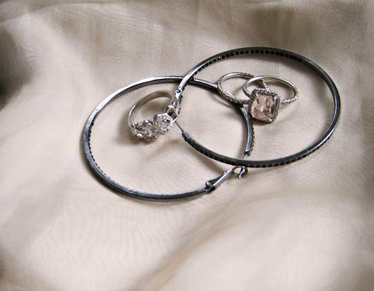 Black Diamond Earrings For Guys