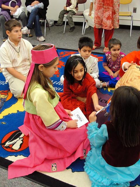United Nations Elementary School Kids