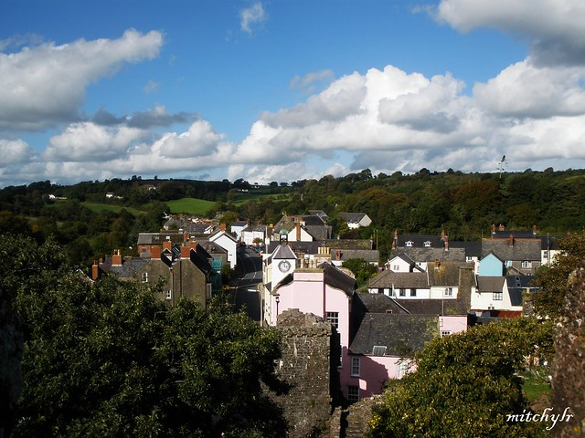 Laugharne Village