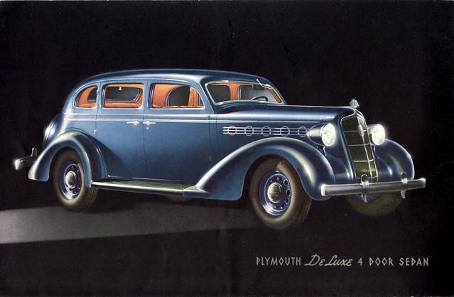 1935 plymouth deluxe 4 door sedan there was also a 4 for 1935 plymouth 4 door sedan