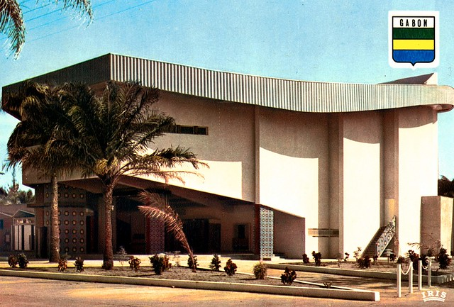 Gabon Port Gentil Cine de Togoue