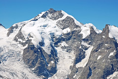 mountain, winter, snow, mountain range, cirque, summit, ridge, arãªte, massif, mountainous landforms,