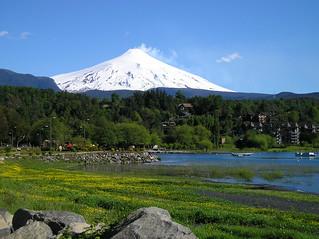 201011-10 Pucón, lago y volcán Villarrica