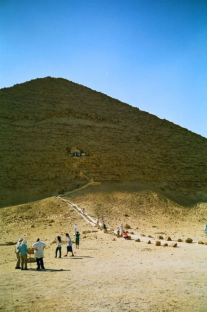 所以可以看到金字塔内部