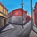 Clifton, Arizona by John Tottenham Paintings
