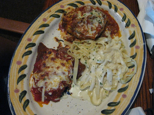 Olive Garden 39 S Tour Of Italy Lunch Plate Flickr Photo Sharing