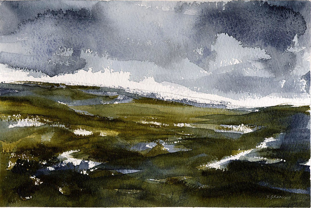 North Yorkshire - Watercolour Painting by Steve Greaves