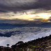 Small photo of Laban Rata sunset