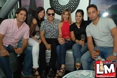 Rafa Rosario Visita moccai Glam Club.