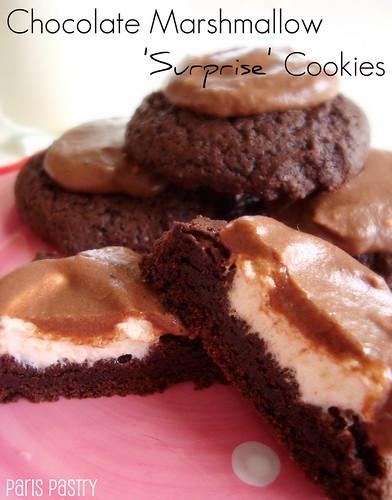 巧克力蛋白软糖惊喜饼干