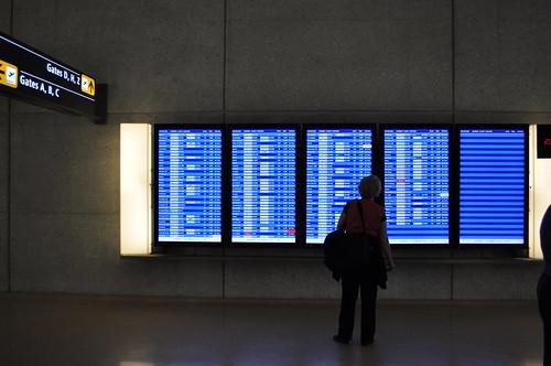 IAD Departure Board