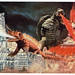 Vintage Showa Era Gamera Art